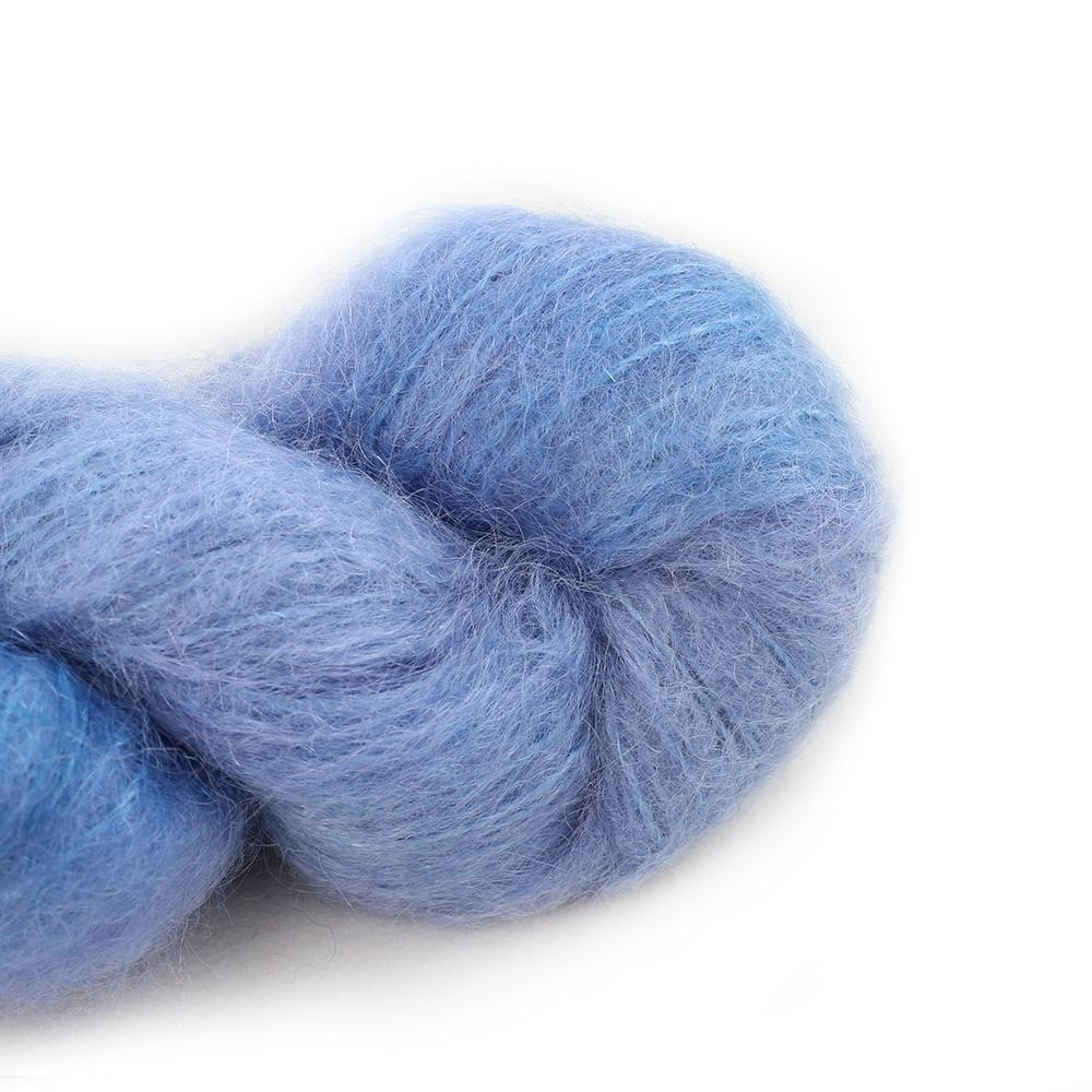 Cowgirl Blues Fluffy Mohair solids (100g) 16-Seagrass