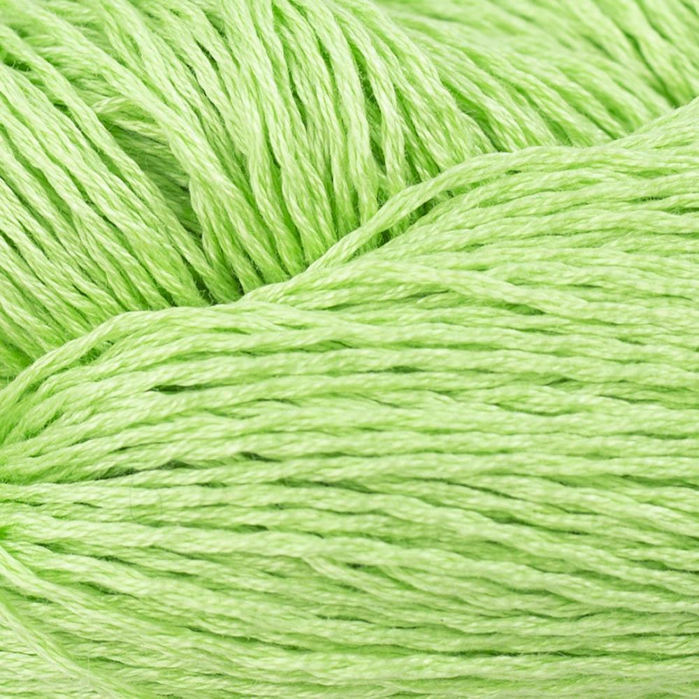 BC Garn Luxor mercerized Cotton Maigrün