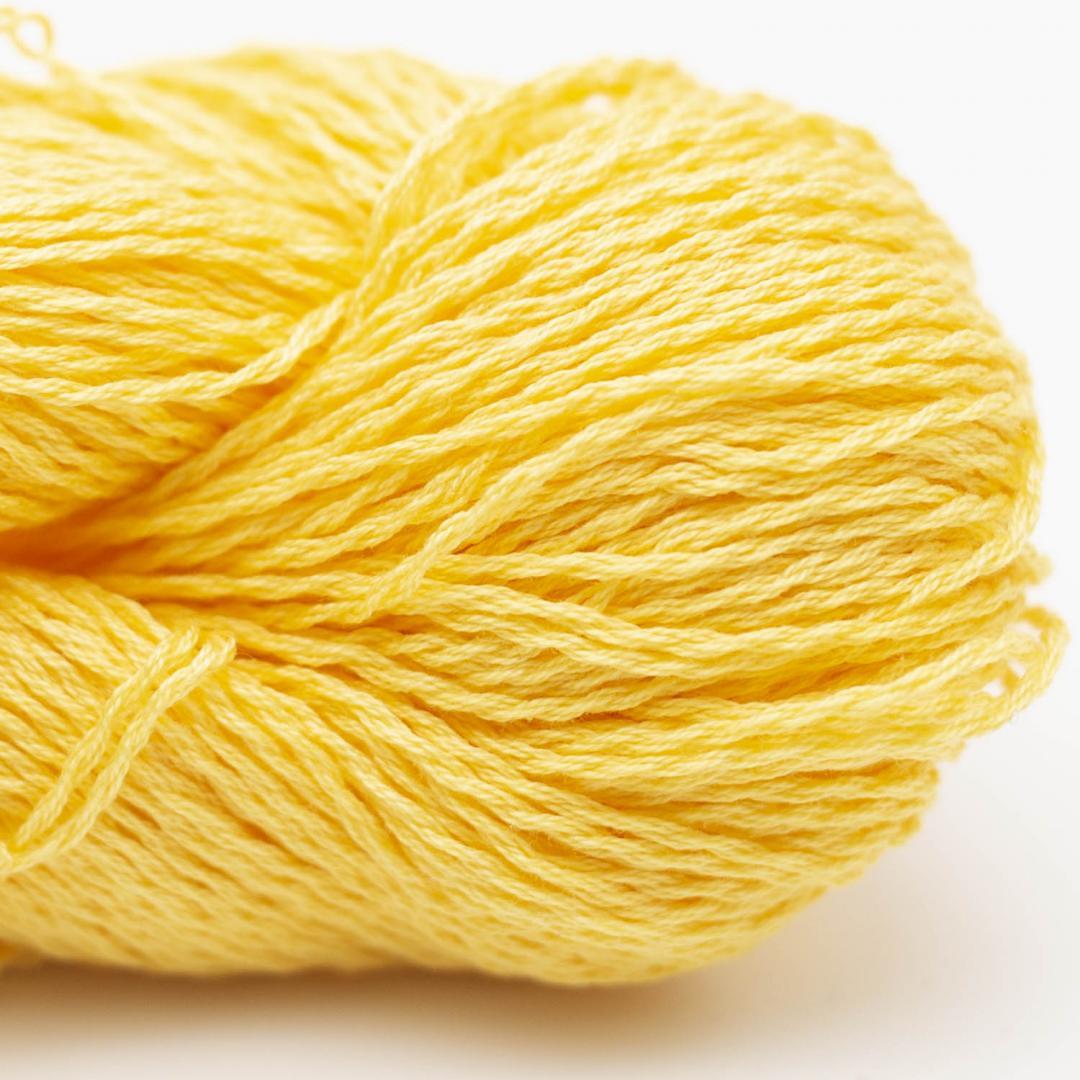 BC Garn Luxor mercerized Cotton sonnengelb