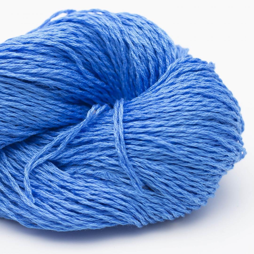 BC Garn Luxor mercerized Cotton himmelblau