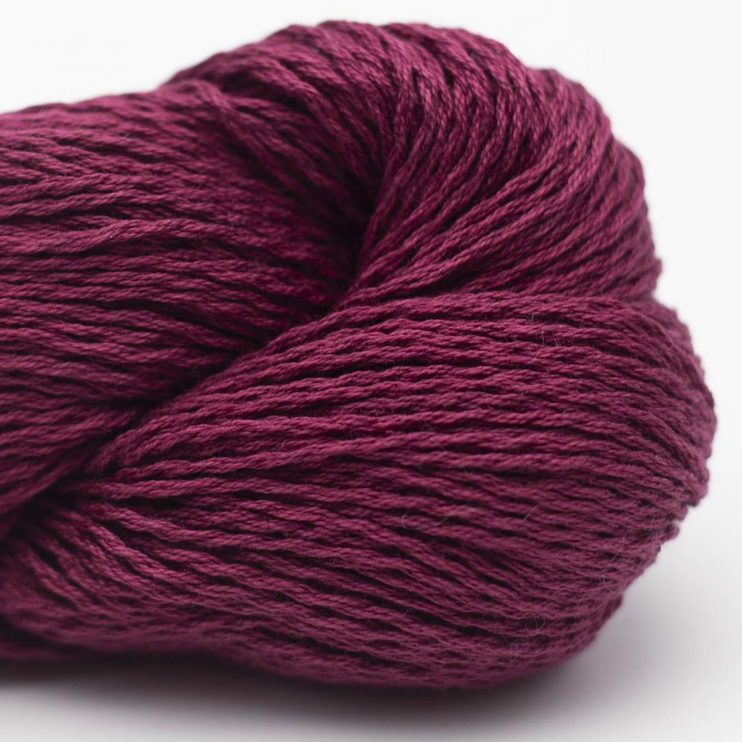 BC Garn Luxor mercerized Cotton bordeaux