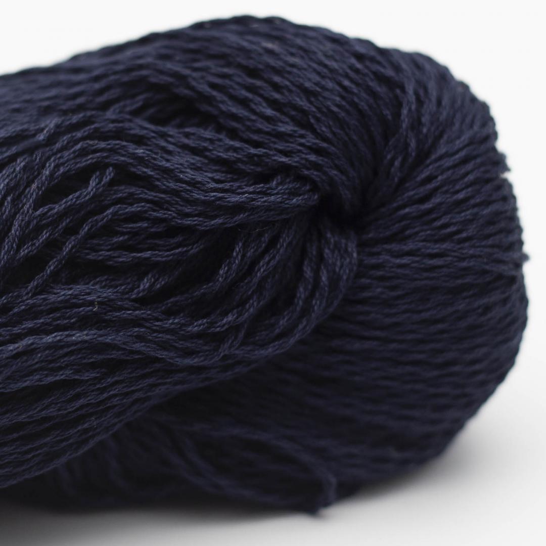 BC Garn Luxor mercerized Cotton nachtblau