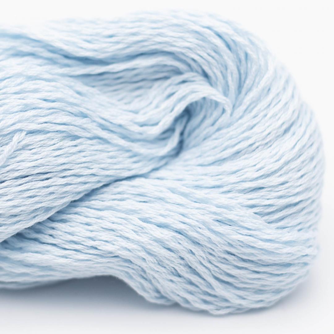BC Garn Luxor mercerized Cotton babyblau