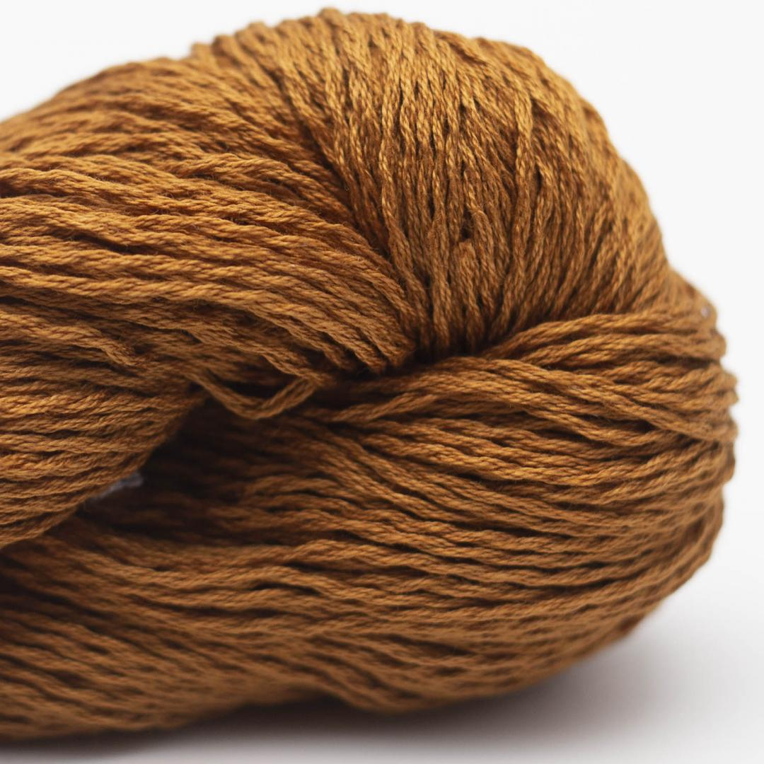 BC Garn Luxor mercerized Cotton bronze