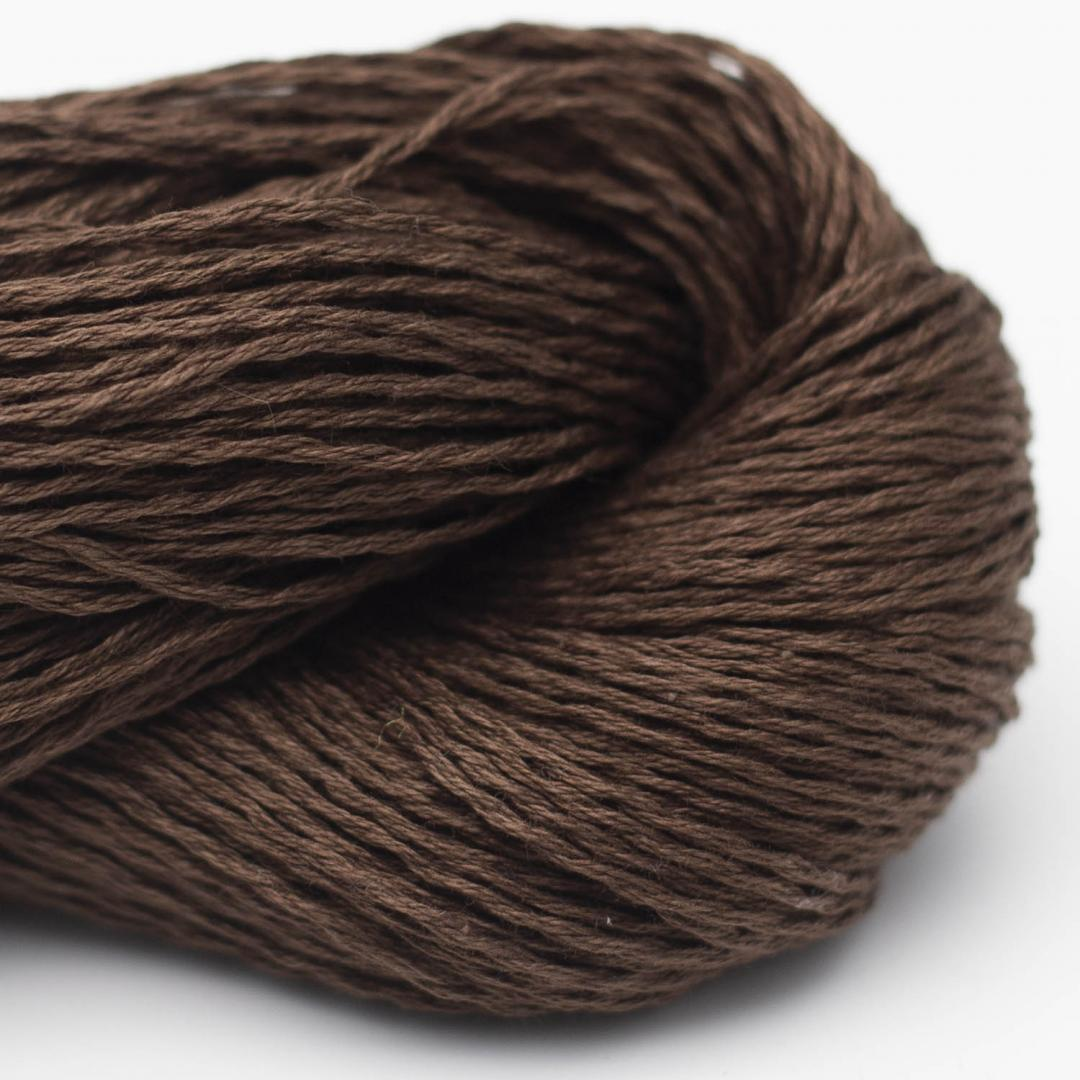 BC Garn Luxor mercerized Cotton Schokobraun