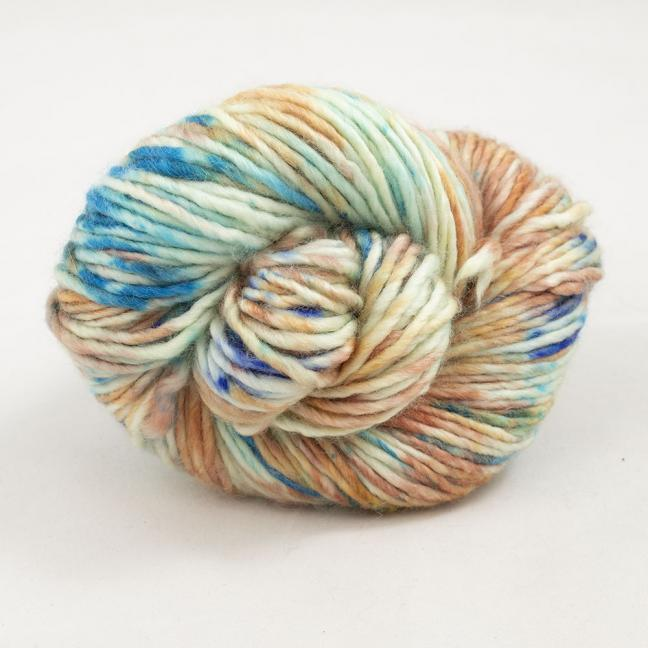 Cowgirl Blues Aran Single Farbverlauf 100g Auslauffarben Shorebreak Sunset