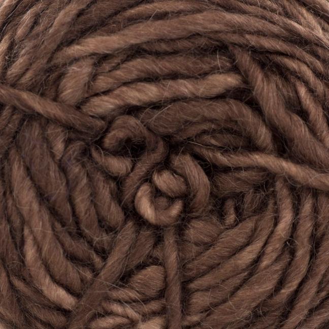 Cowgirl Blues Aran Single (100g) solids Auslauffarben Coffee Bean