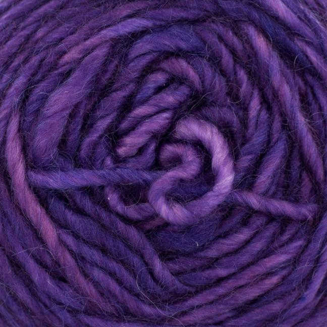 Cowgirl Blues Aran Single (100g) solids Auslauffarben Violet