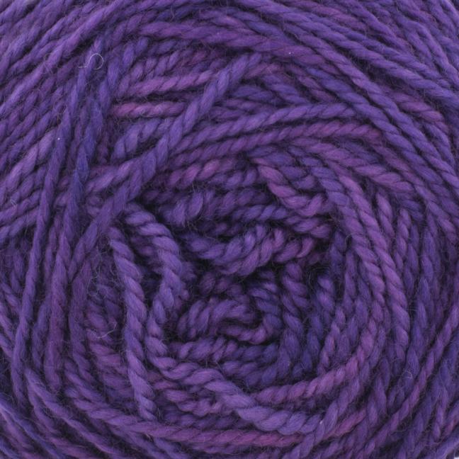 Cowgirl Blues Merino DK solids Auslauffarben Violet