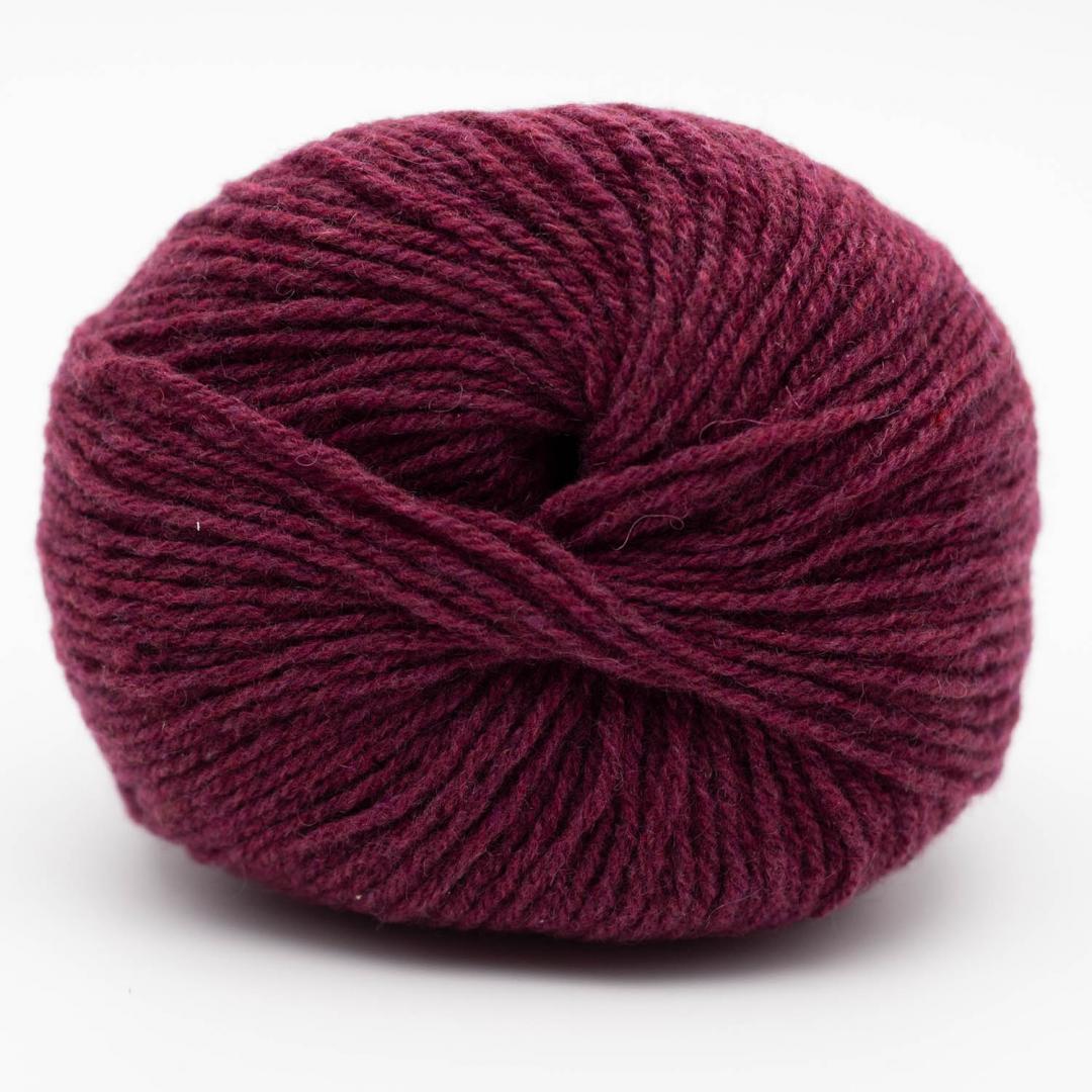 Kremke Soul Wool Eco Cashmere Fingering 25g Bordeauxrot
