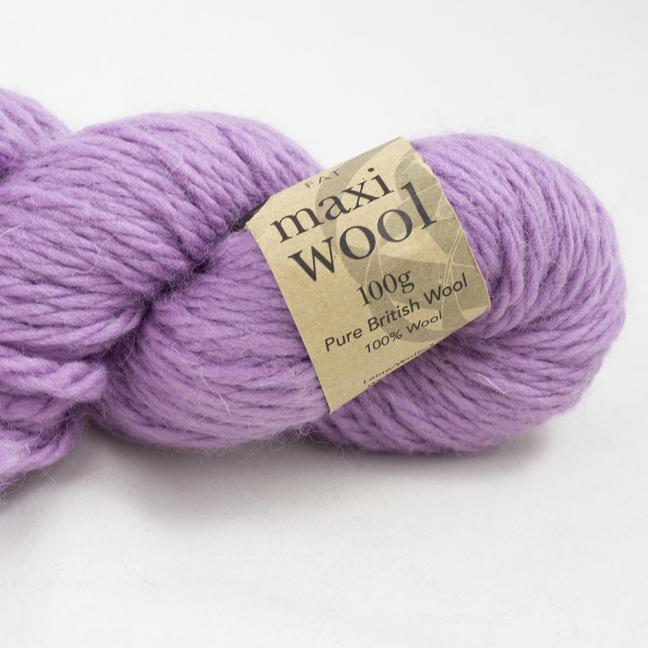 Erika Knight Maxi Wool Auslauffarben (100g) Wisteria