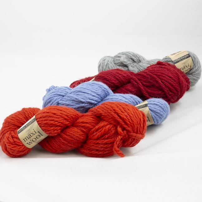 Erika Knight Maxi Wool Auslauffarben (100g)