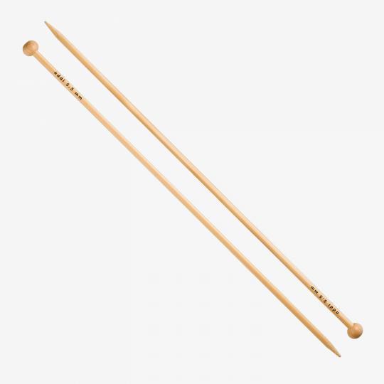 Addi Bambus-Jackenstricknadeln 500-7  25cm 3,75mm