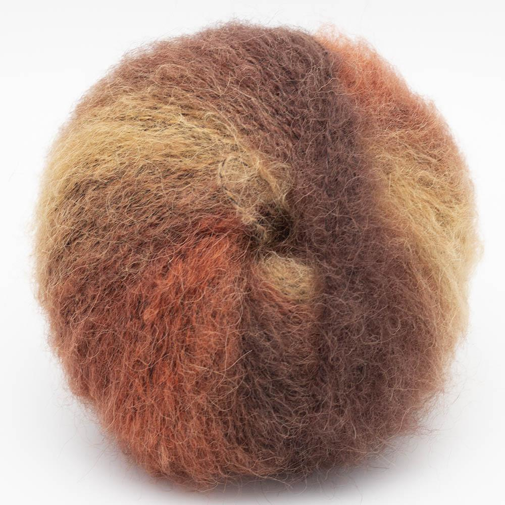 Kremke Soul Wool Baby Silk Fluffy Rostbraun