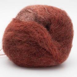 Kremke Soul Wool Baby Silk Fluffy Farbverlauf Dunkelrot Partie 0