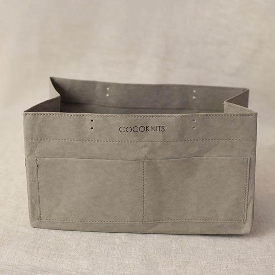 CocoKnits Kraft Caddy  Beigeoliv