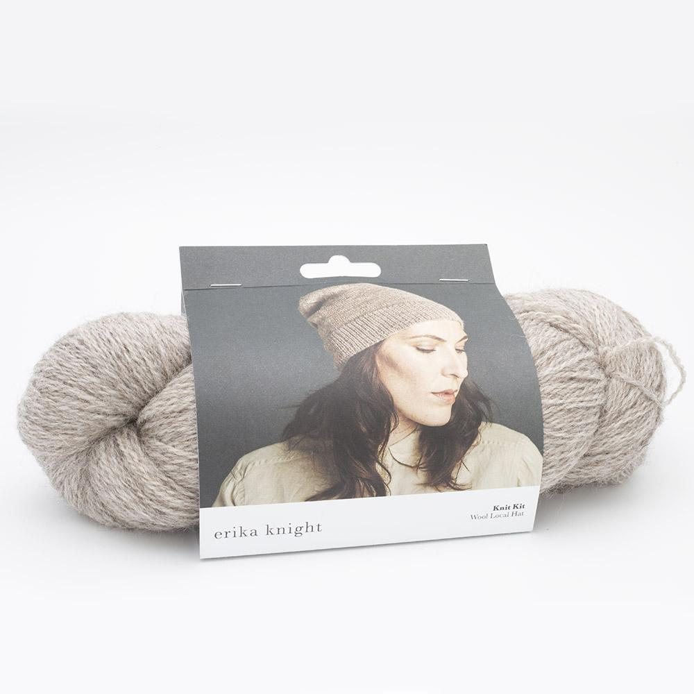 Erika Knight Strick Kits Wool Local Mütze Deutsch