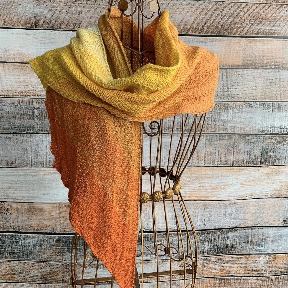 Kremke Soul Wool Garnpaket Schal Marling in Sequence