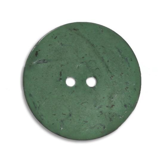 Jim Knopf Cocosknopf flach gefärbt 18mm