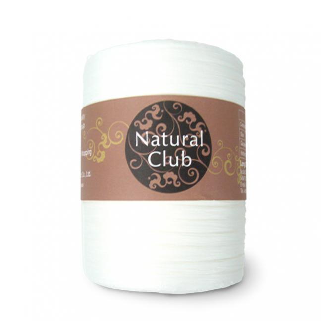 Kremke Naturbast aus Papier/Holzfaser weiß