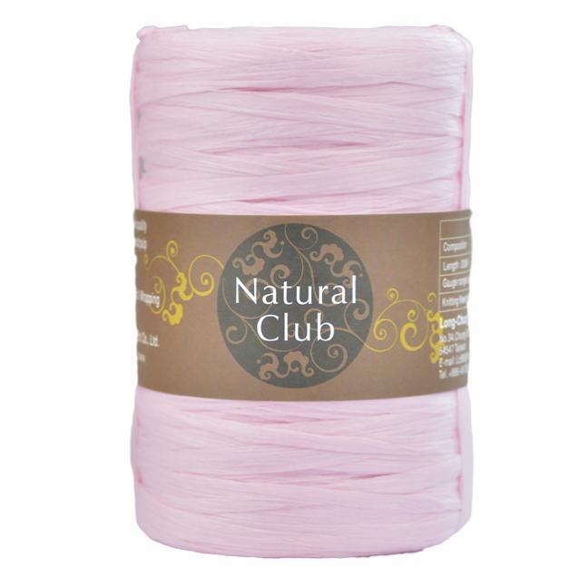 Kremke Naturbast aus Papier/Holzfaser rosé