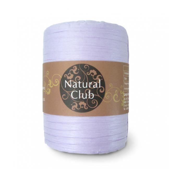 Kremke Naturbast aus Papier/Holzfaser flieder
