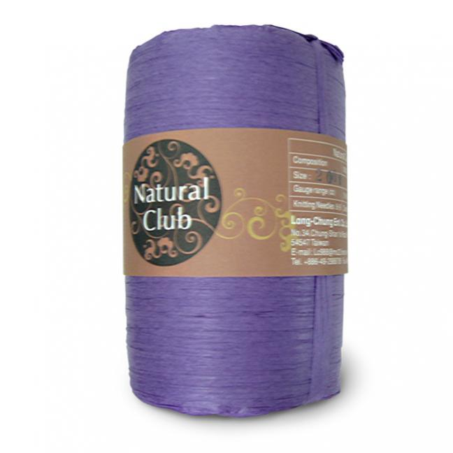 Kremke Naturbast aus Papier/Holzfaser lila