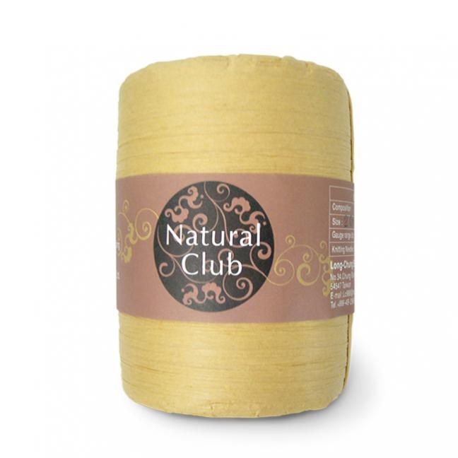 Kremke Naturbast aus Papier/Holzfaser  sand