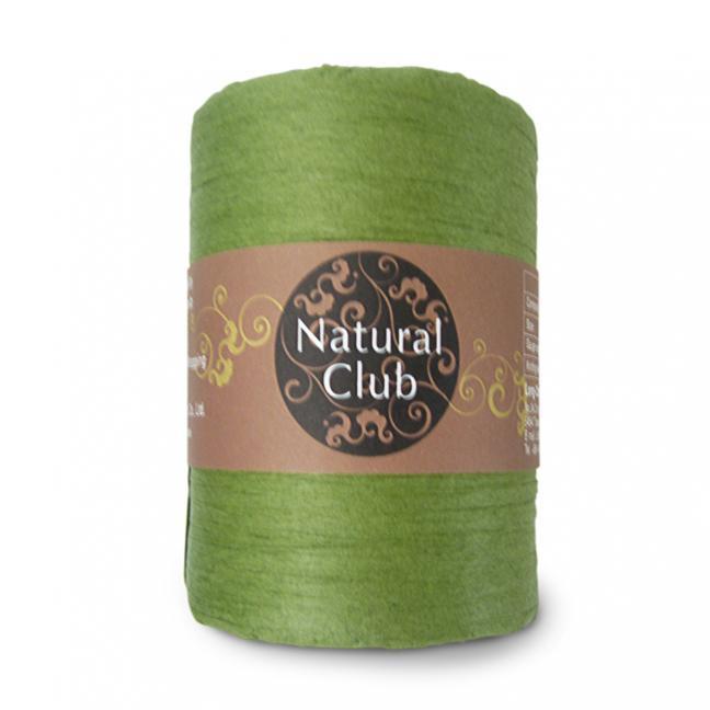 Kremke Naturbast aus Papier/Holzfaser olivgrün