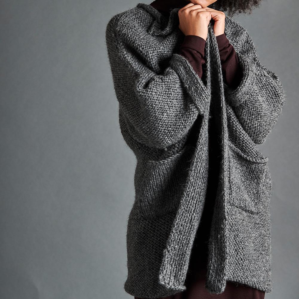 Erika Knight Anleitung TRAVELLER für Maxi Wool EK0009