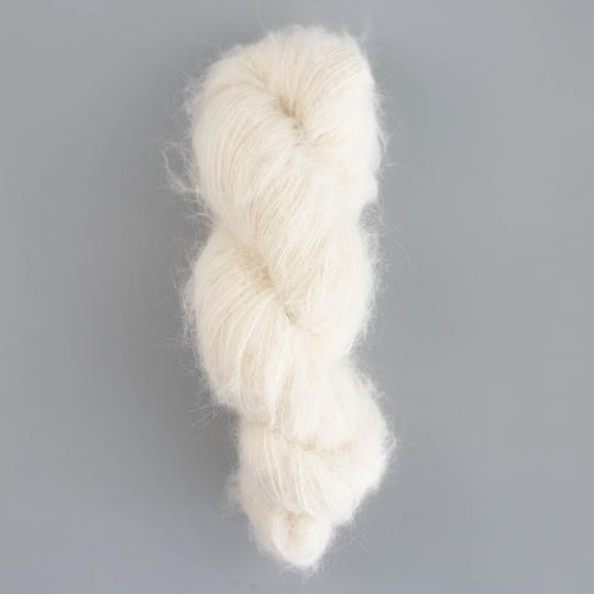 Kremke Soul Wool Baby Silk Fluffy ungefärbt auf 50g Strang