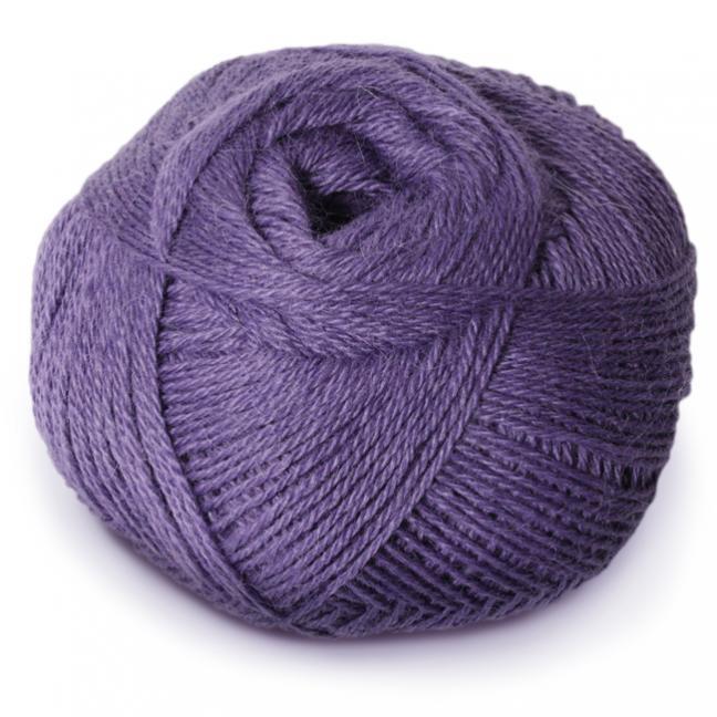 Kremke Alpaka 100 % superfine violett