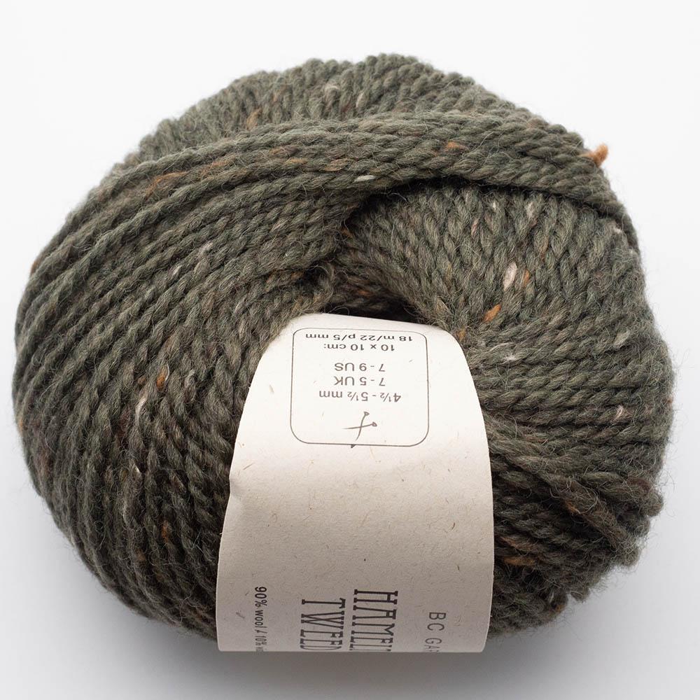 BC Garn Hamelton Tweed 1 light green