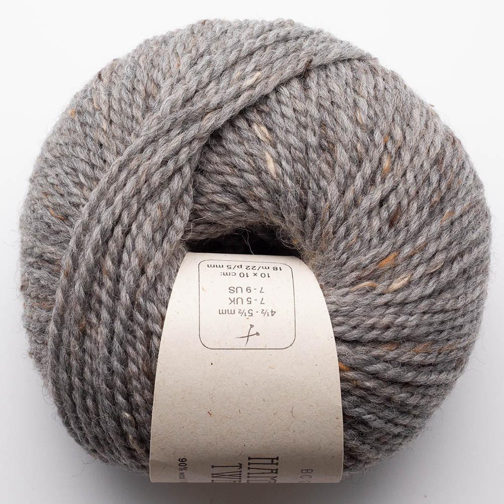 BC Garn Hamelton Tweed 1 grau