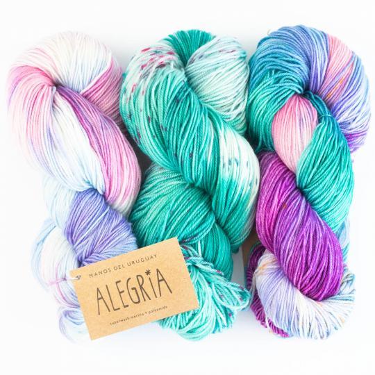 Manos del Uruguay Alegria handgefärbt