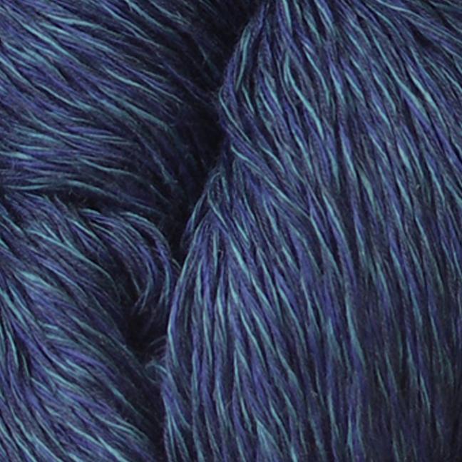 Karen Noe Design Linea Leinen (100g) dunkelblau
