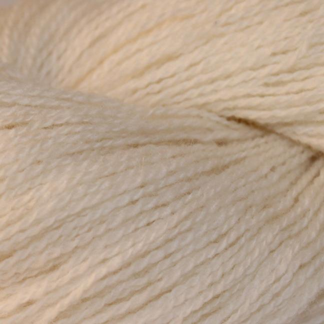Karen Noe Design Shetlandwolle Weiß