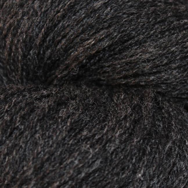 Karen Noe Design Shetlandwolle Kohle