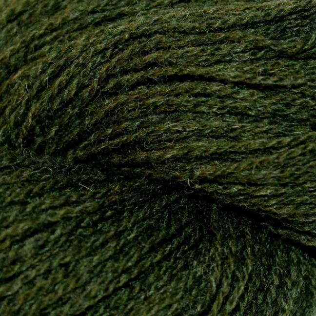 Karen Noe Design Shetlandwolle Immergrün