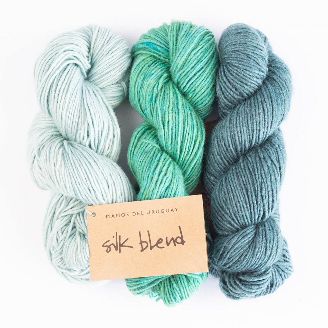 Manos del Uruguay Silk Blend uni handgefärbt
