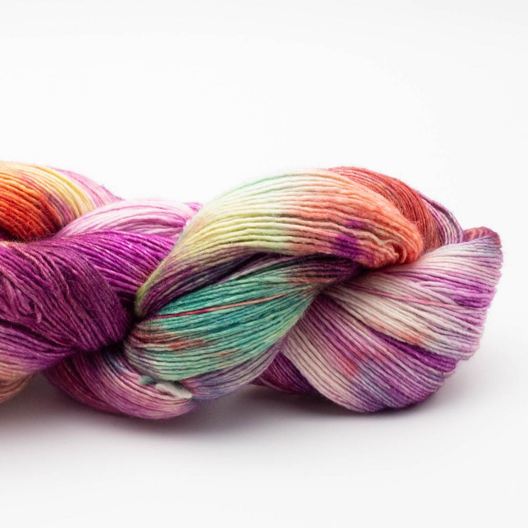 Manos del Uruguay Silk Blend fino handgefärbt 100g  Cincuenta - Jubiläumsfarbe