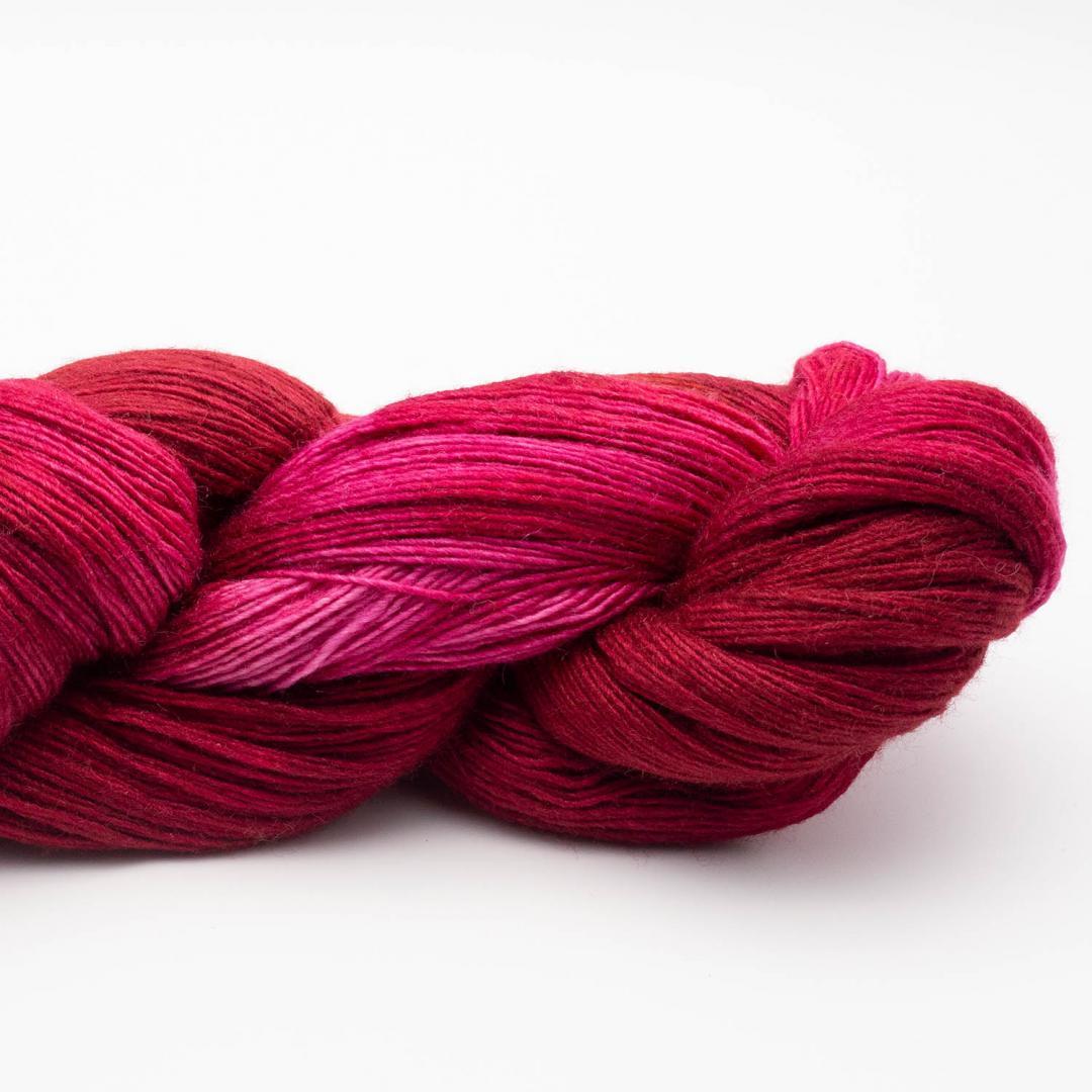 Manos del Uruguay Silk Blend fino handgefärbt 100g Flamé