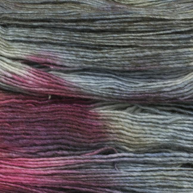 Manos del Uruguay Silk Blend fino handgefärbt 100g Bramble