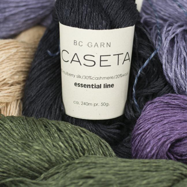 BC Garn Caseta  weiß