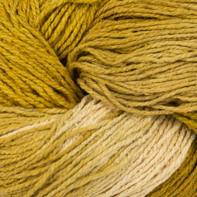 BC Garn Soft Silk Handpaint (100g) yellow-natur-mix