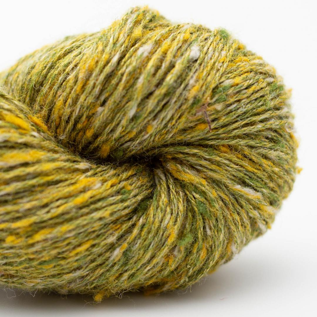BC Garn Tussah Tweed green-fantasie-mix