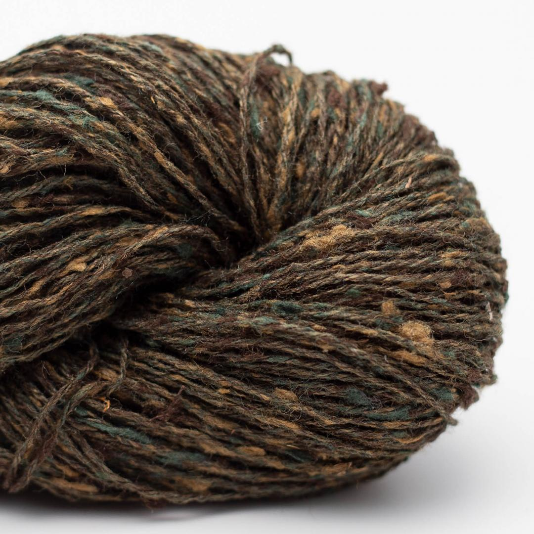 BC Garn Tussah Tweed forest-green-mix