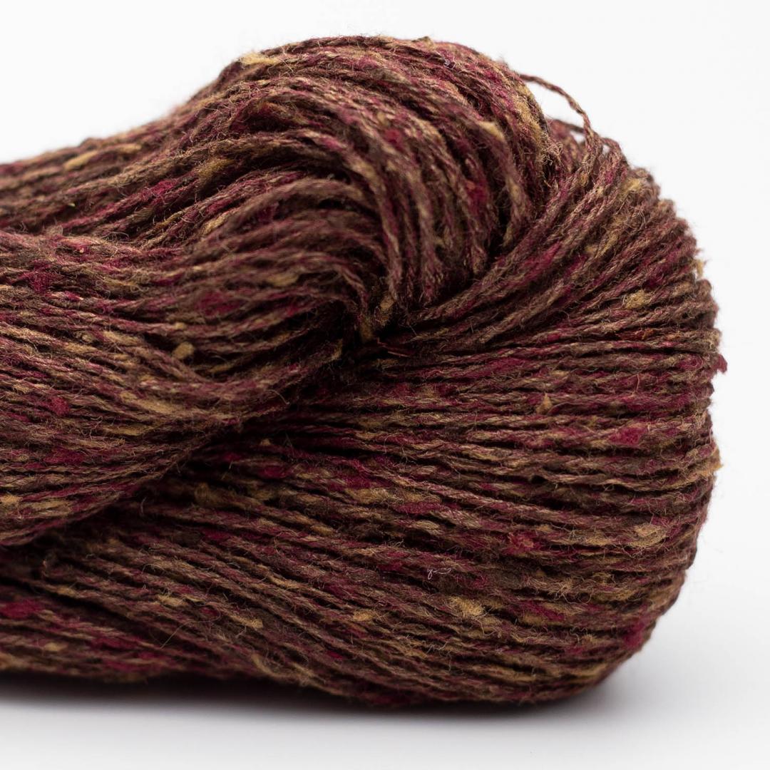 BC Garn Tussah Tweed aubergine-mix