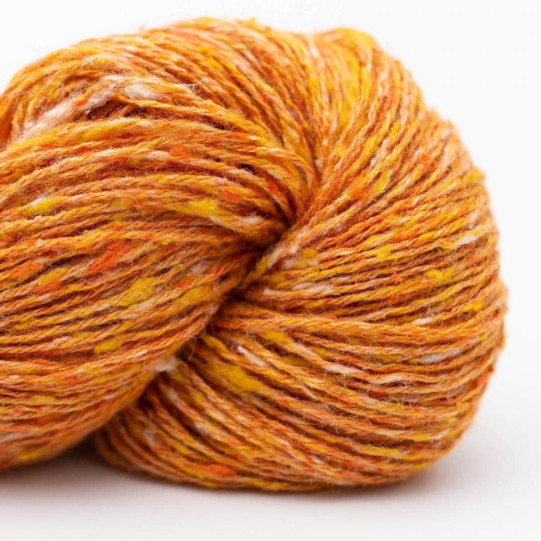 BC Garn Tussah Tweed orange