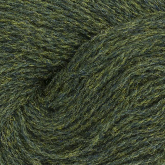 BC Garn Shetland Wool Grün